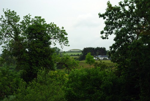 Newgrange across the Boyne