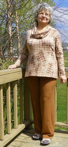 Cowl Tunic Sweater