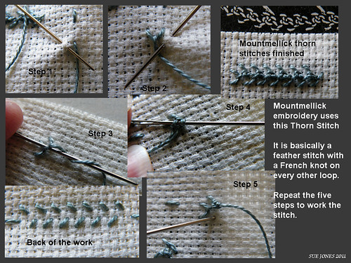Mountmellick Thorn Stitch