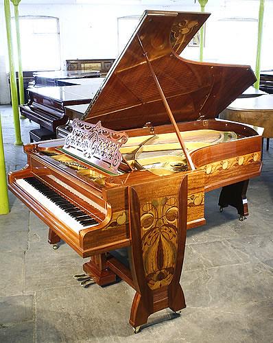 Gutermann, art nouveau, Bechstein Model C Grand Piano by Besbrode Pianos Leeds