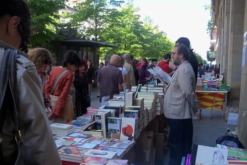 Día del Libro 2011 en Zaragoza