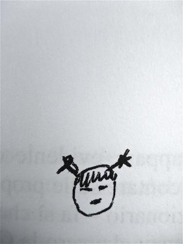 """Roland Barthes, I carnet del viaggio in Cina, ObarraO edizioni 2010; [resp. grafica non indicata], alla cop.: """"Paolo Ferrari, Raddoppio su-figura, 2010; p. 71 (part.), 1"""