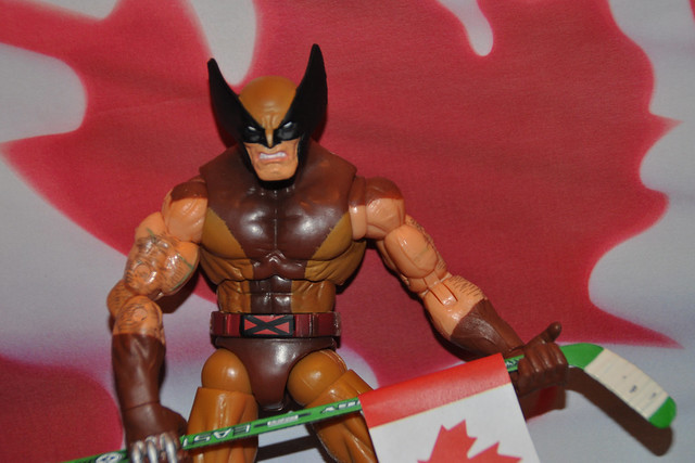 Wolverine would be a monster on the blueline.