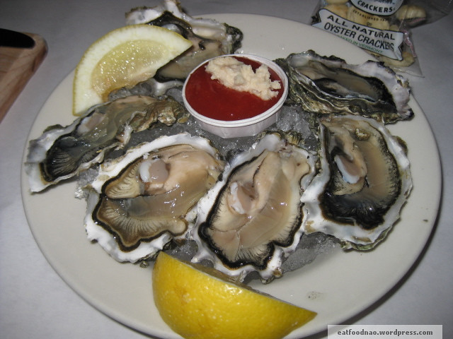 Raw Oysters on a Half Shell