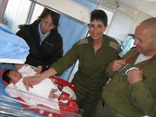 IDF Doctors Treat New Mothers and Their Babies