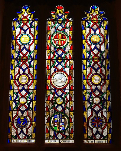 20110227-43_Stained Glass - All Saints Church - Newland Village by gary.hadden