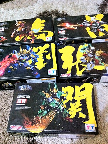 TT Hongli SD Three Kingdoms Model Kits