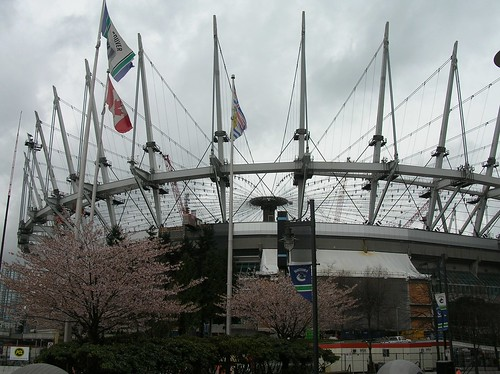 BC Place support system for the new retractable roof