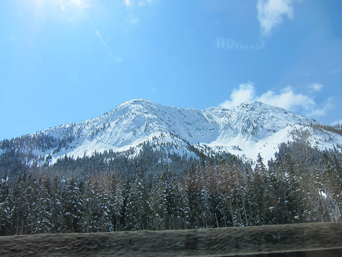 Driving Up to Kelowna