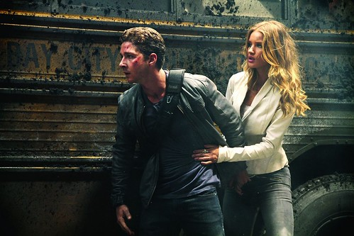 Transformers 3 - Dark of the moon Shia LaBeouf and Rosie Rosie Huntington-Whiteley