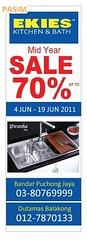EKIES Kitchen & Bath Promotion 4 - 19 Jun 11