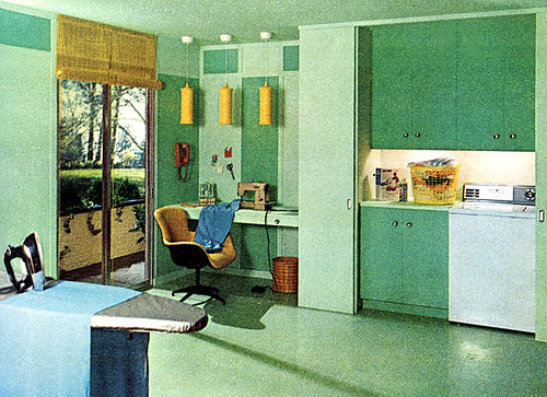 Kitchen/Laundry Room (1965)