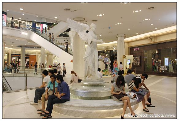 [曼谷]機場主題Terminal 21 Shopping Mall~每層樓代表世界不同城市 @VIVIYU小世界