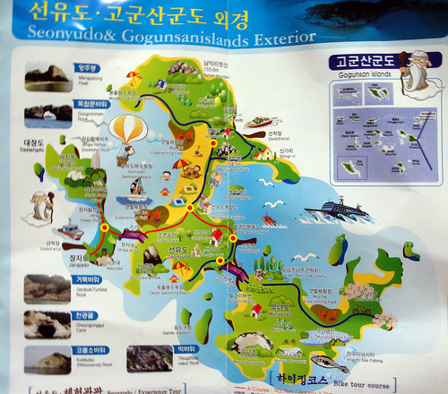 Seonyudo & Gogunsanislands map
