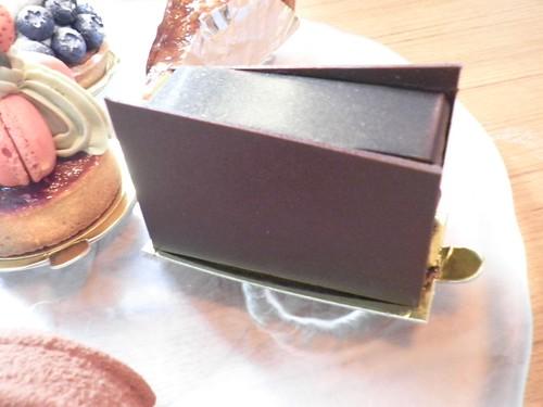威士忌酒的黑巧克力蛋糕1