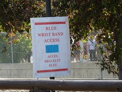 Will and Kate at Calgary Stampede - pix 18 - the famous/infamous blue wristband area