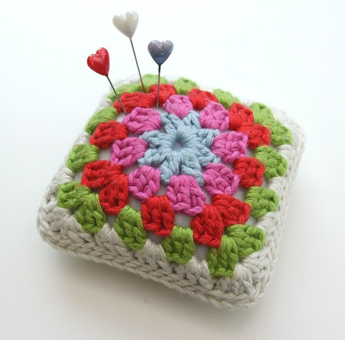 Pincushion with pins...