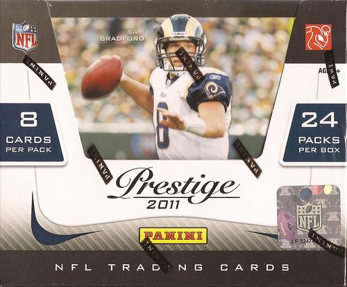 2011 Panini Prestige box
