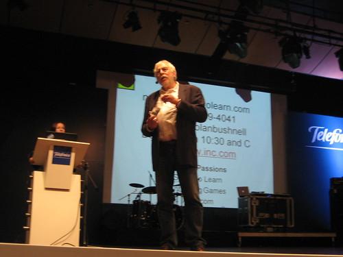 Nolan Bushnell- founder Atari