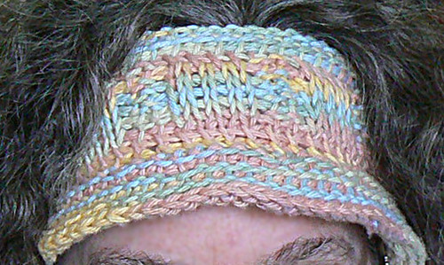 hatband on