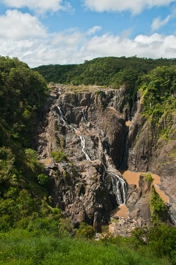 The Barron Falls