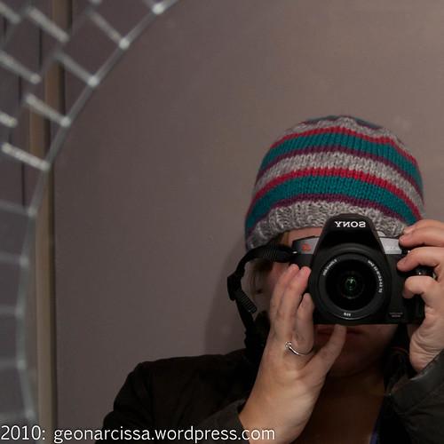 camera, hat, knitting, self portrait3.jpg