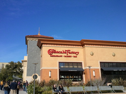 Lunch at the Cheesecake Factory