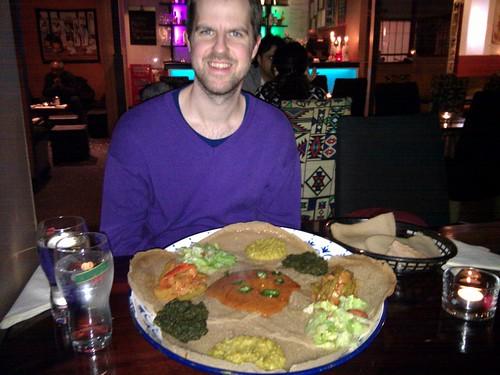 Eritreanskt restaurangbesök