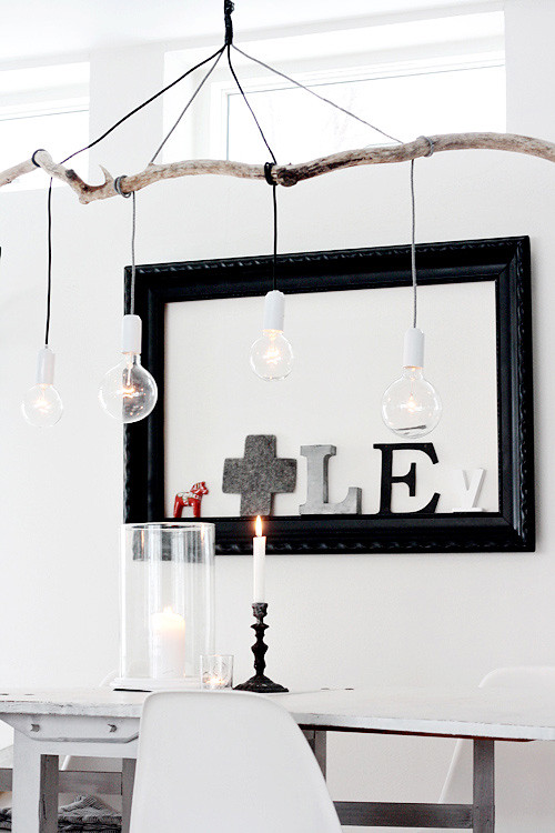 DIY: Affordable Branch Pendant