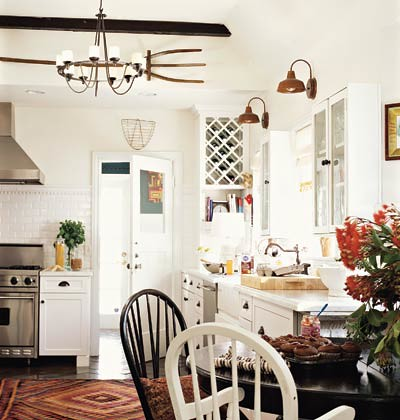 Tia Zoldan cottage kitchen