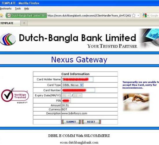 DBBL E-commerce Page