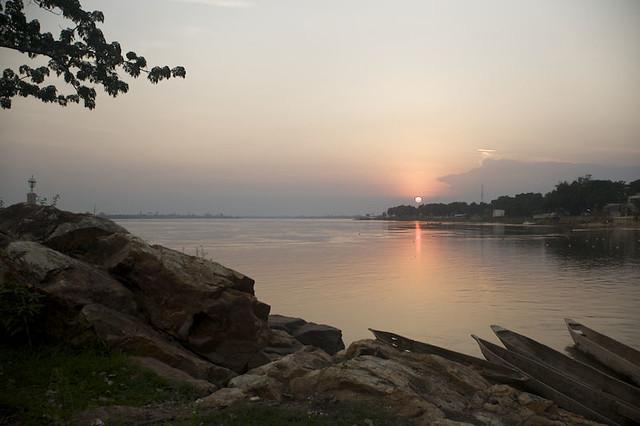 Beautiful Sunset in Bangui