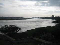 Cauvery changing its direction
