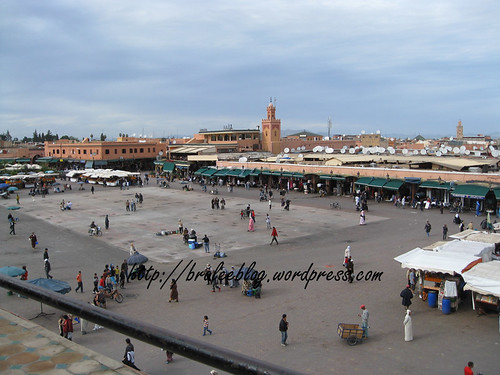 Djemaa el Fna in the daytime