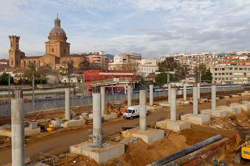 Estación de Sant Andreu - 30-12-10.jpg