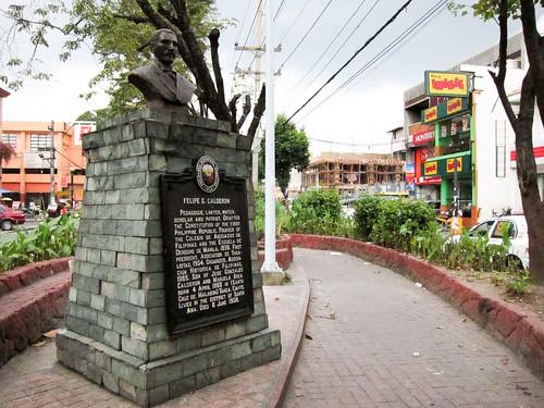 Plaza Felipe Calderon in Sta. Ana, Manila