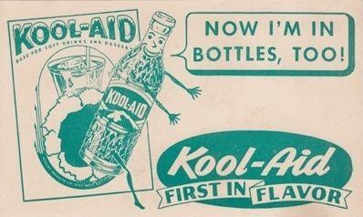 Kool-Aid bottles ad