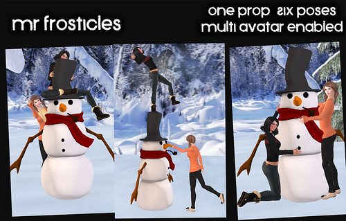 Mr Frosticles - Prop and Poses