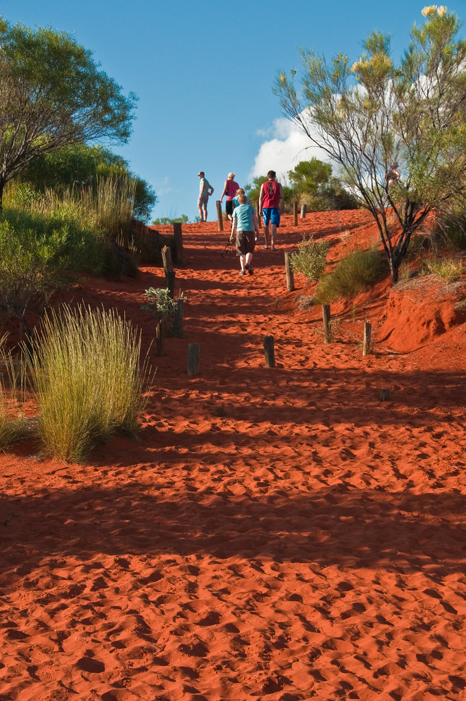 Did I mention the red earth?