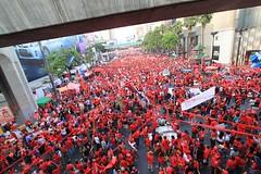 Red Shirt Rally - Bangkok, Thailand