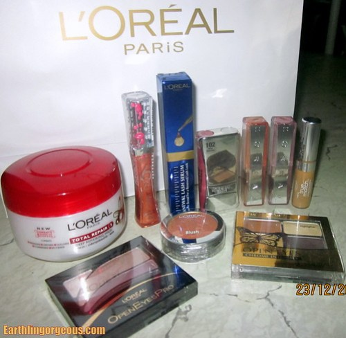 My L'Oreal Paris Make Up Loot!