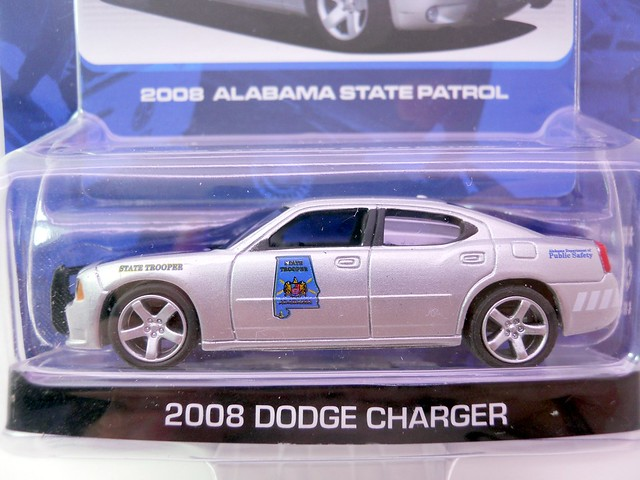 GREEN LIGHT HOT PURSUIT ALABAMA STATE PATROL DODGE CHARGER POLICE CAR  (2)