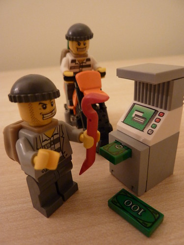 Lego: Cash machine robbery