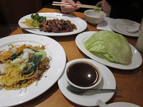 Dinner at HK Diner