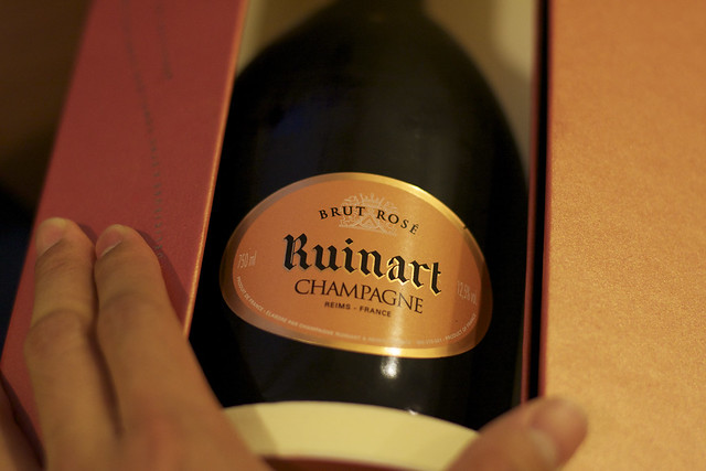 Ruinart NV Rose Champagne