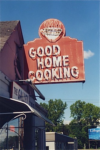 The Galley Good Home Cooking Neon Sign West Springfield MA 1995