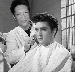 Jonal Chong with Elvis