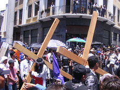 Easter procession, Quito, Ecuador