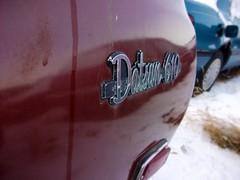 1973 Datsun 610 station wagon badge