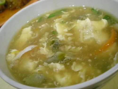 Y2K's tofu soup Foochoe style